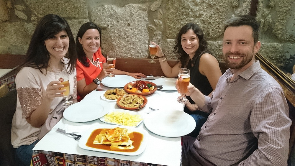 My friends as well as the chef at the Santo António Restaurant made this dinner memorable.